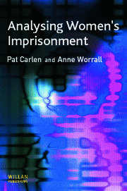 Analysing Women's Imprisonment - 1st Edition book cover