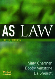 AS Law - 5th Edition book cover