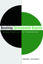 Resolving Environmental Disputes - 1st Edition book cover