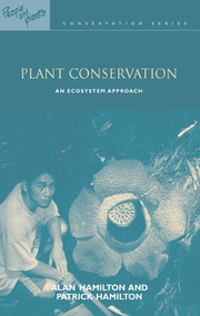 Plant Conservation - 1st Edition book cover
