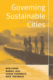 Governing Sustainable Cities - 1st Edition book cover