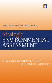 Strategic Environmental Assessment - 1st Edition book cover