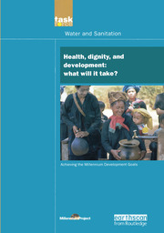UN Millennium Development Library: Health Dignity and Development - 1st Edition book cover