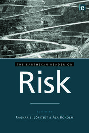 The Earthscan Reader on Risk - 1st Edition book cover