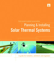 Planning and Installing Solar Thermal Systems - 2nd Edition book cover