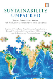 Sustainability Unpacked - 1st Edition book cover