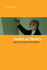 Jean-Luc Nancy and the Future of Philosophy - 1st Edition book cover