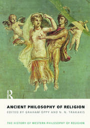 Ancient Philosophy of Religion - 1st Edition book cover