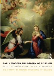 Early Modern Philosophy of Religion - 1st Edition book cover