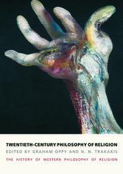 Twentieth-Century Philosophy of Religion - 1st Edition book cover