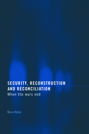 Security, Reconstruction, and Reconciliation - 1st Edition book cover