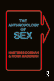 The Anthropology of Sex - 1st Edition book cover
