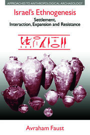 Israel's Ethnogenesis - 1st Edition book cover