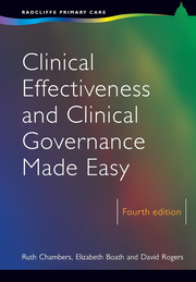 Clinical Effectiveness and Clinical Governance Made Easy - 4th Edition book cover