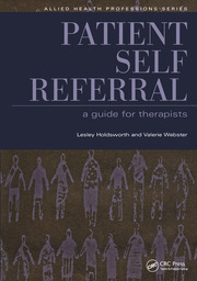 Patient Self Referral - 1st Edition book cover