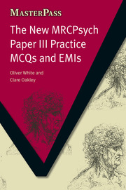 The New MRCPsych Paper III Practice MCQs and EMIs - 1st Edition book cover