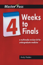 Four Weeks to Finals - 1st Edition book cover