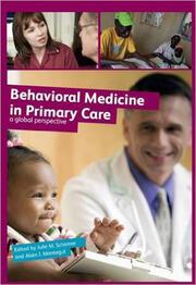 Behavioural Medicine in Primary Care - 1st Edition book cover