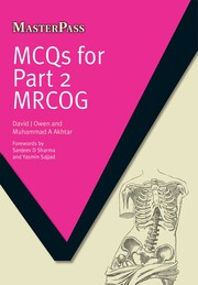 MCQS for Part 2 MRCOG - 1st Edition book cover