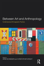 Between Art and Anthropology - 1st Edition book cover