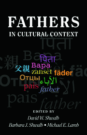 Fathers in Cultural Context - 1st Edition book cover