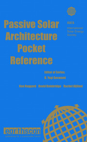 Passive Solar Architecture Pocket Reference - 1st Edition book cover
