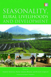 Seasonality, Rural Livelihoods and Development - 1st Edition book cover