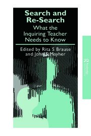 Search and re-search - 1st Edition book cover