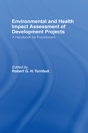 Environmental and Health Impact Assessment of Development Projects - 1st Edition book cover