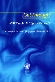 Get Through MRCPsych: MCQs for Paper 3 - 1st Edition book cover
