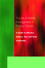 The Art of Middle Management in Secondary Schools - 1st Edition book cover