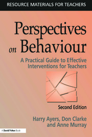 Perspectives on Behaviour - 2nd Edition book cover