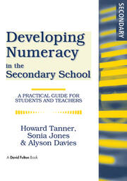 Developing Numeracy in the Secondary School - 1st Edition book cover
