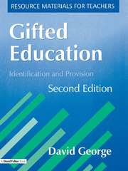 Gifted Education - 1st Edition book cover