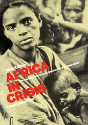 Africa in Crisis - 2nd Edition book cover