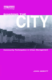 Sharing the City - 1st Edition book cover