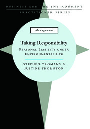 Taking Responsibility - 1st Edition book cover