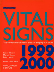 Vital Signs 1999-2000 - 1st Edition book cover