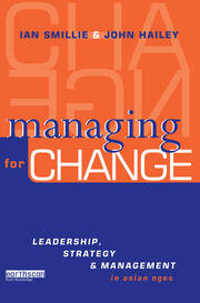Managing for Change - 1st Edition book cover
