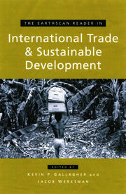 The Earthscan Reader on International Trade and Sustainable Development - 1st Edition book cover