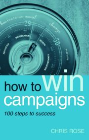 How to Win Campaigns - 1st Edition book cover