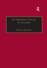 Comparing Legal Cultures - 1st Edition book cover