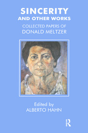 Sincerity and Other Works - 1st Edition book cover