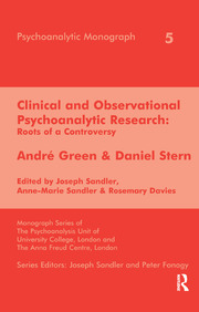 Clinical and Observational Psychoanalytic Research - 1st Edition book cover