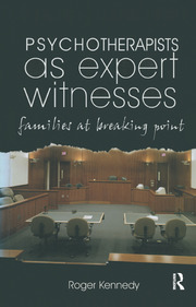Psychotherapists as Expert Witnesses - 1st Edition book cover