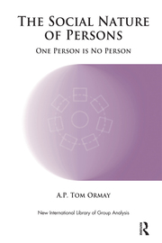 The Social Nature of Persons - 1st Edition book cover