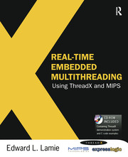 Real-Time Embedded Multithreading Using ThreadX and MIPS - 1st Edition book cover