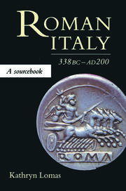 Roman Italy, 338 BC - AD 200 - 1st Edition book cover