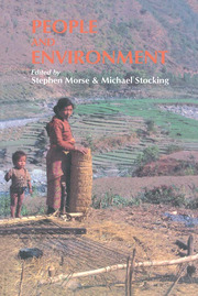 People And Environment - 1st Edition book cover