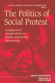 The Politics Of Social Protest - 1st Edition book cover